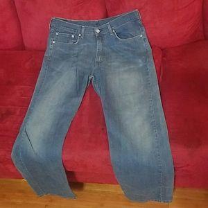 Mens Levi's jeans sz 38